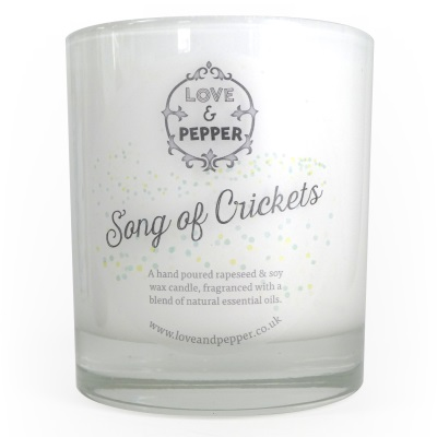 Aromatherapy Candle Song Of Crickets