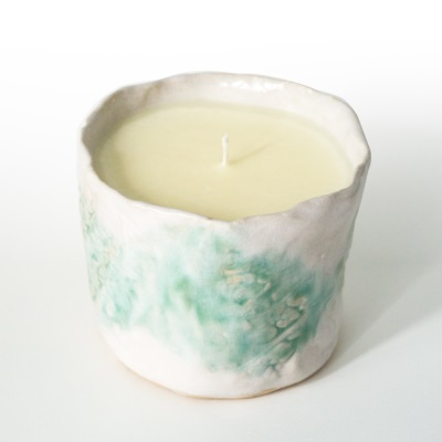 Natural wax candles